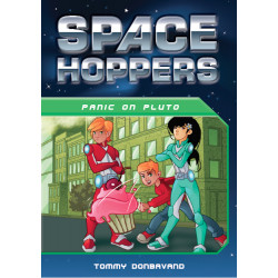 Space Hoppers: Panic on Pluto Children's Book