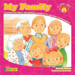 My Lovely Family Series My Family Book