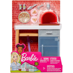 Barbie Pizza Factory Accessories