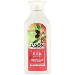 Jason Natural & Pure Long & Strong Jojoba Shampoo - 16 fl oz, Set of 2