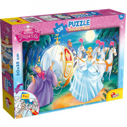 Lisciani Double-sided Puzzle - Cinderella