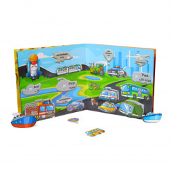 Babbelyo Interactive Educational Book to Enhance Children's Memory, 4-6 years old