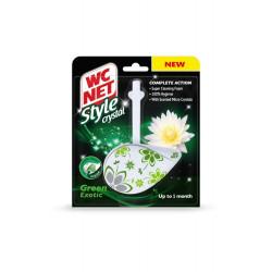 WC NET Crystal gel green exotic one block
