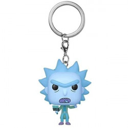 Funko Pop! Keychain: Rick & Morty - Hologram Rick Clone