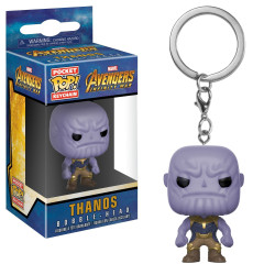 Funko Pocket Pop! Keychain- Pocket Pop! Keychain: Marvel - Avengers: Infinity War - Thanos