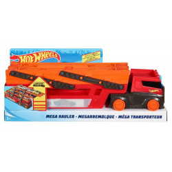 Hot Wheels Mega Hauler with Storage for up to 50 1:64 scale cars ages 3