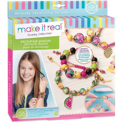 Make It Real Make it Real Decoupage Jewellery