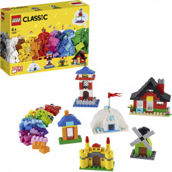 LEGO Bricks and Houses