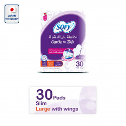 Sofy Gentle to Skin Large pads, 30 pieces