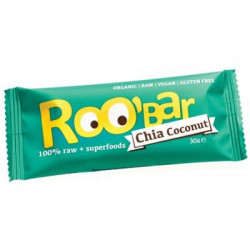 Roobar Chia and Coconut 30g
