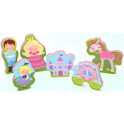 Chunky Puzzle Playset: magical kingdom