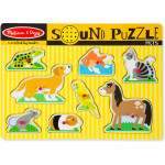 Melissa & Doug Pets Sound Puzzle - 8 Pieces