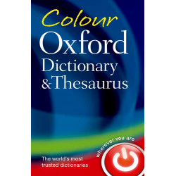 Oxford Color Dictionary & Thesaurus, Paperback | 706 pages
