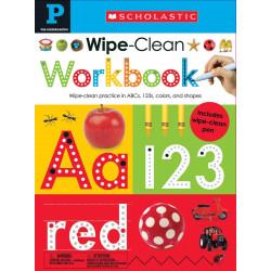 Wipe Clean Workbook: Pre-K
