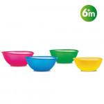 Nuby Bowls Set - 4 pieces - 360ml