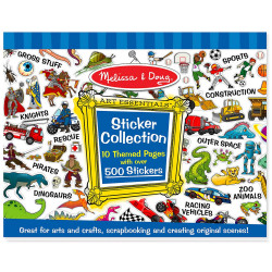 Melissa & Doug Sticker Collection Book: 500+ Stickers
