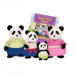 Li'L Woodzeez Panda Family