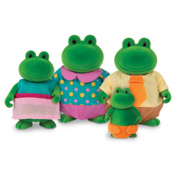 Li'L Woodzeez Frog Family
