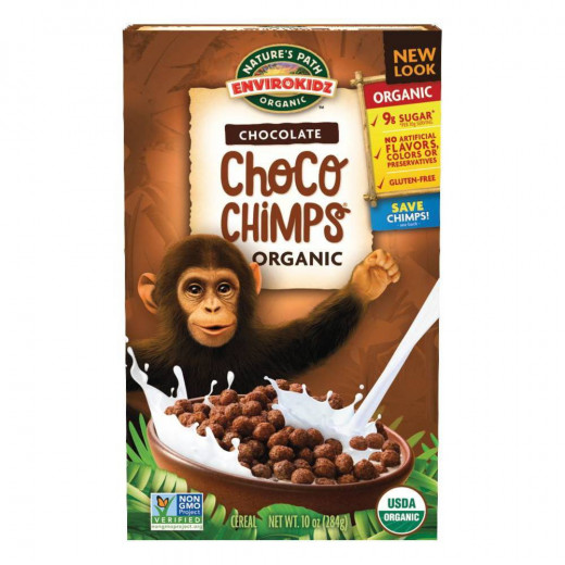 Nature's Path Choco Chimps Cereal - 284g