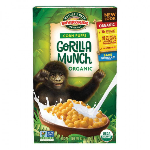 Natures path organic gorilla munch Cereal 284g