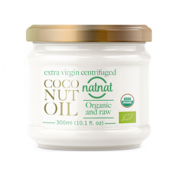 Extra Virgin Centrifuged Coconut Oil Organic and Raw  300ml