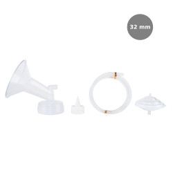 Spectra Wide Breast Shield Set (32mm (XL)) 4pc