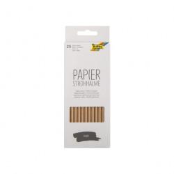 Folia Paper Drinking Straw Craft, 25 psc