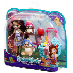 Enchantimals Doll & Animal Themed Pack Assorted