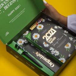 Mofakera Agenda Set Daisy Flower for 2021