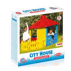 Dolu City House With Fence