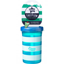 Tommee Tippee Free Flow Cup, +9 months - Turiquoise
