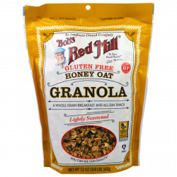 Bob's Red Mill Granola Gluten Free Honey Oat, 12 oz