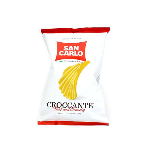 San Carlo Croccante Thick & Crunchy Potato Chips 180g