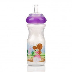 Nuby Sport Sipper New Design - Purple, 300 ml