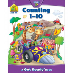 Counting 1-10 Deluxe Edition Workbook