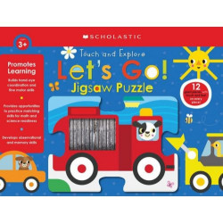 Scholastic Livro - Let's Go! Jigsaw Puzzle: Early Learners (Puzzle)