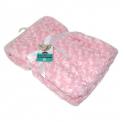 Plush Baby Blanket - Pink
