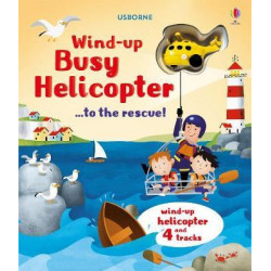 Usborne Wind-Up Busy Helicopter... to the Rescue