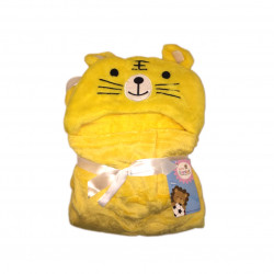 Soft Wrapper - Baby Blanket for Babies (Yellow Cat)