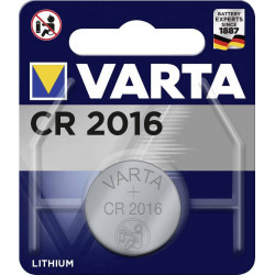 Varta Electronics CR2016 Button cell CR2016 Lithium 87 mAh 3 V 1 pc(s)