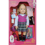 Our Generation Deluxe School Girl Doll with Book - Hally