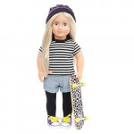 Our Generation Clothes Set -THAT'S HOW I ROLL With SKATEBOARD