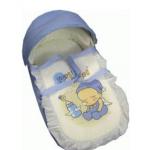 سرير الأطفال المتنقل اللون الأزرق من فارلن
