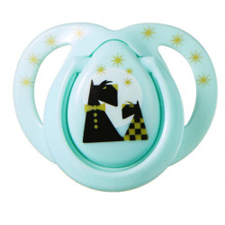Tommee Tippee Moda Soother, 0-6 months, Green