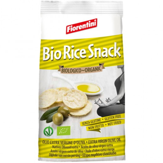 Fiorentini Organic Rice Snack Extra Virgin Olive Oil 40g