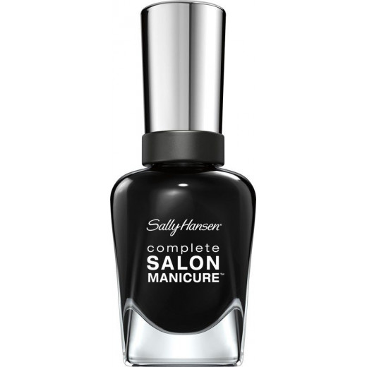 Sally Hansen Complete Salon Manicure Nail Polish - 700 Hooked on Onyx