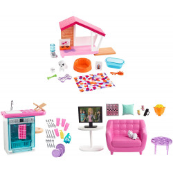 Barbie Estate Indoor Furniture Set with  Accessories - Assortment - 1 Pack - Random Selection