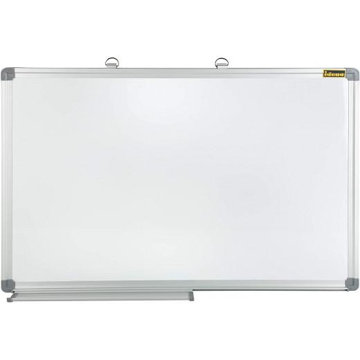 سبورة بيضاء 70 × 50 سم مغناطيسية + 1 ممحاة مجانية