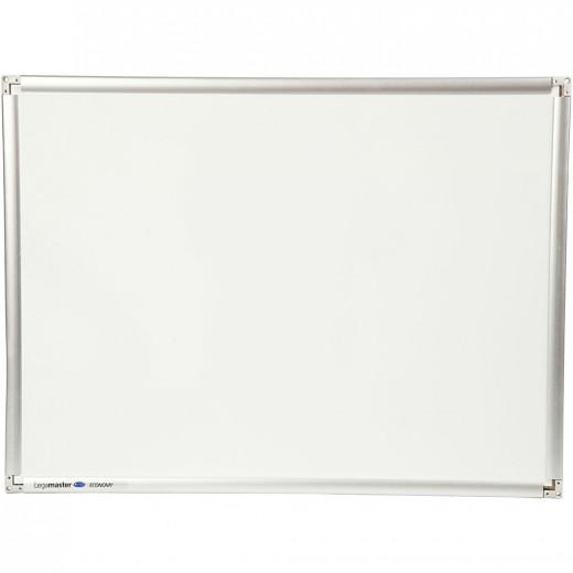 سبورة بيضاء ، 60 × 90 سم + 1 ممحاة مجانية