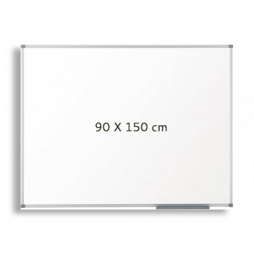 سبورة بيضاء - 90 سم × 150 سم + 1 ممحاة مجانية + قلم سبورة بيضاء